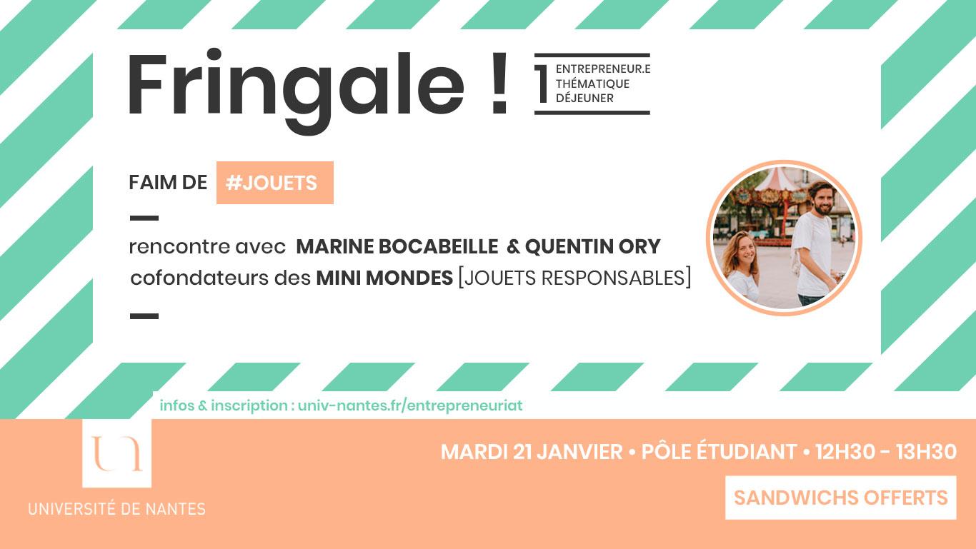 Fringale - Mini Mondes - Université de Nantes