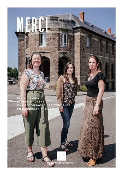 Lydie, Hélène et Marie-Agathe
