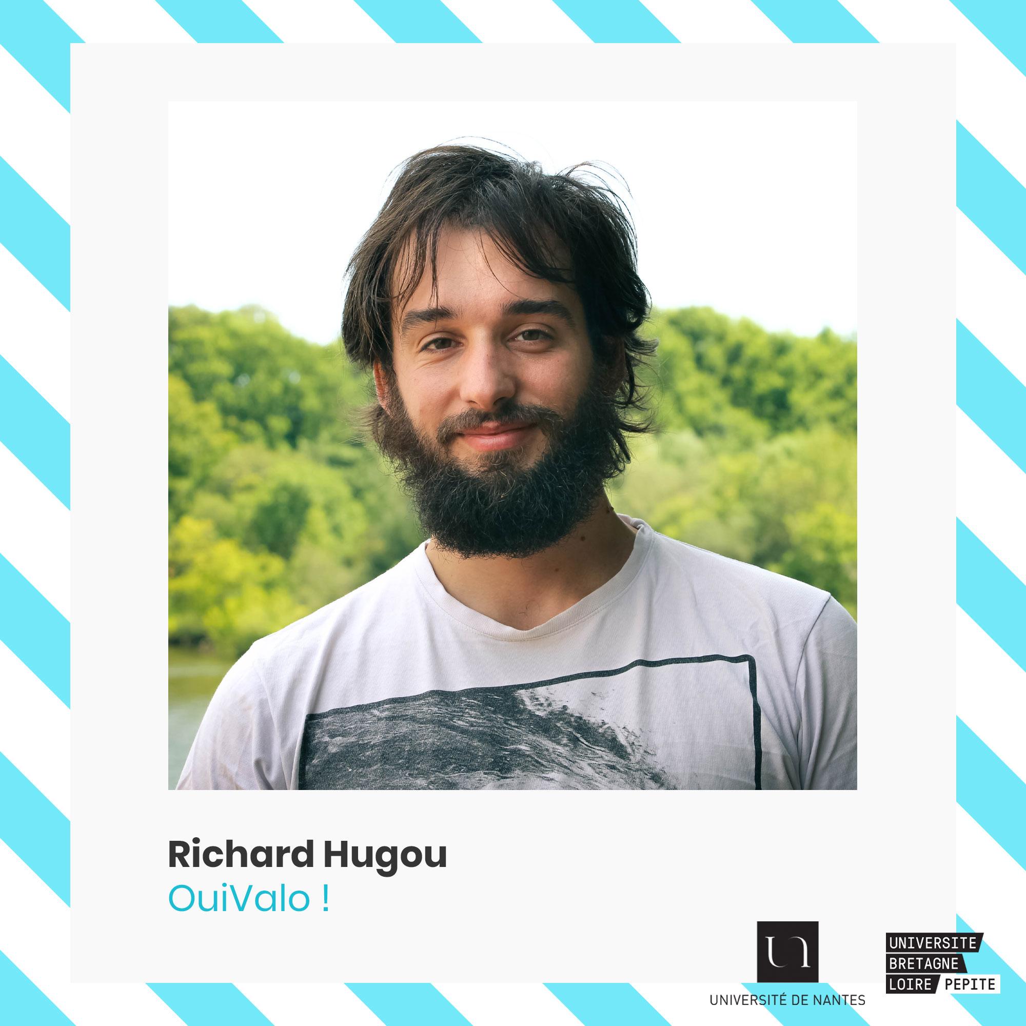 Richar Hugou - OuiVALO - entrepreneuriat-étudiant - Université de Nantes