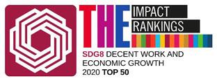 TOP 50 sur l'ODD 8